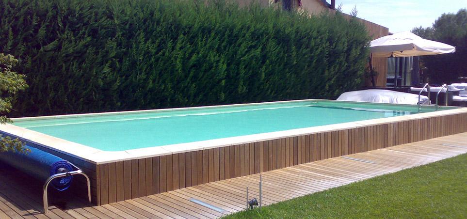 Piscine elegance piscina fuori terra autoportante dalle for Piscine prefabbricate fuori terra prezzi